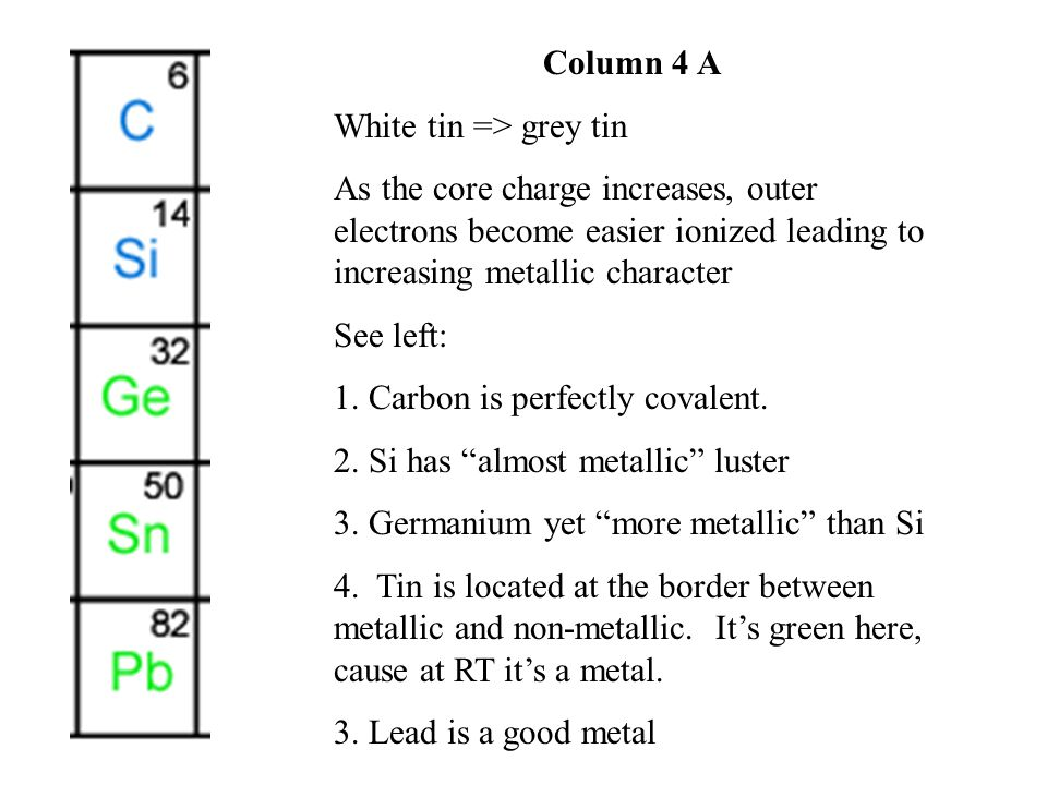 Typical Metal Properties 1.High specific density, close packing => non directional 3.