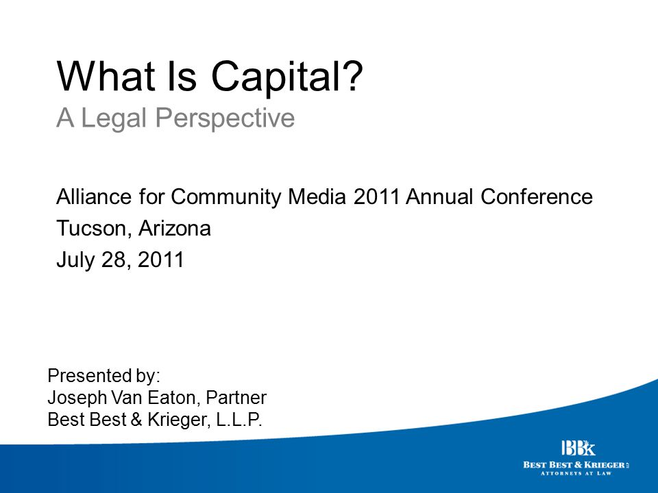 What Is Capital.