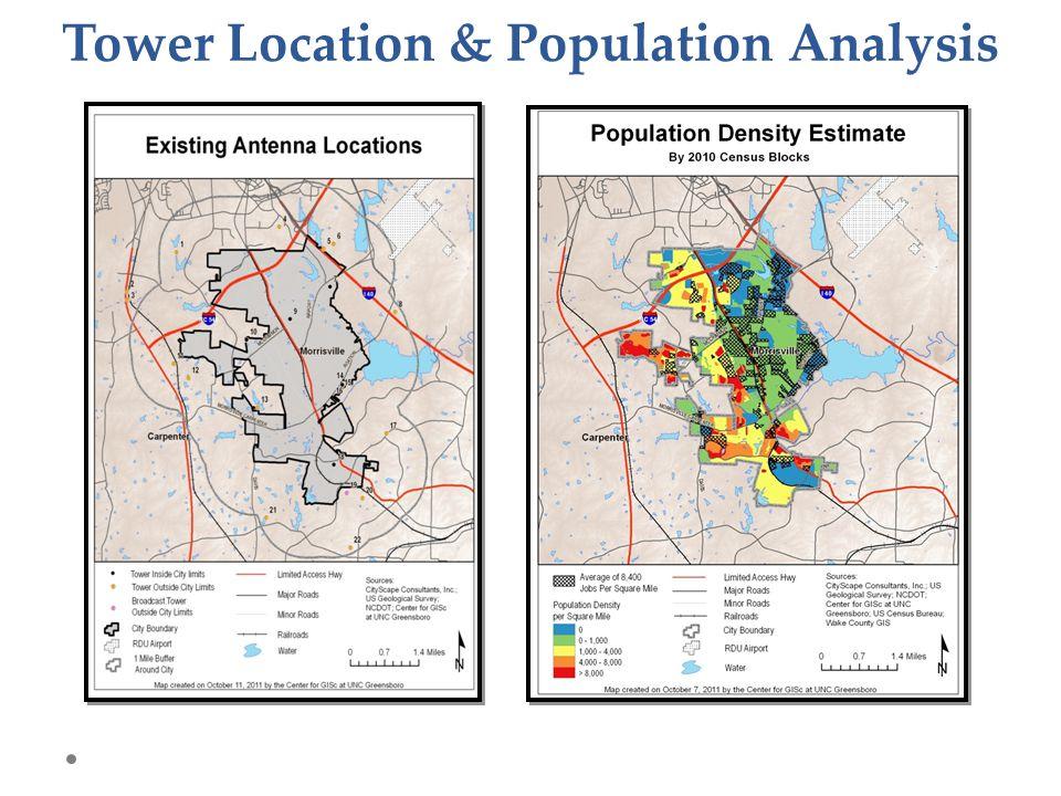 Tower Location & Population Analysis
