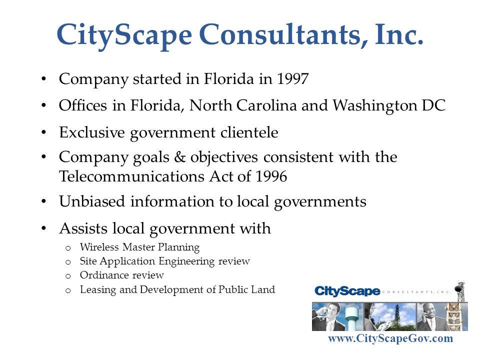 CityScape Consultants, Inc.