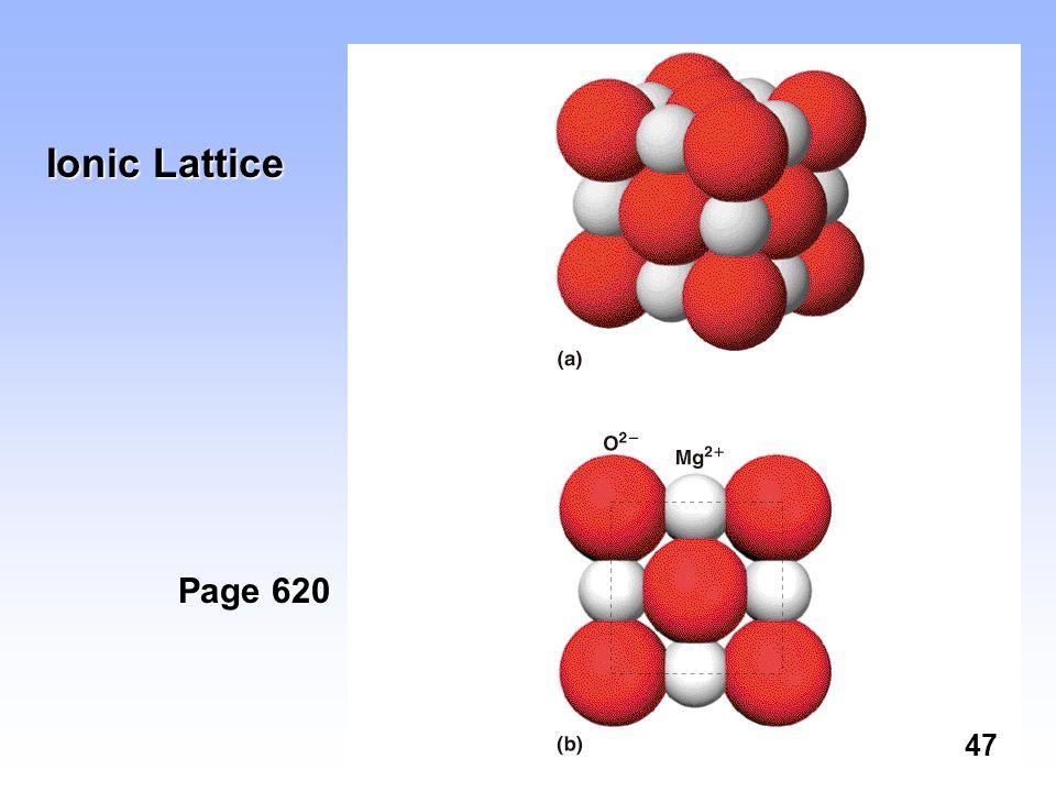 Ionic Lattice Page 620 47