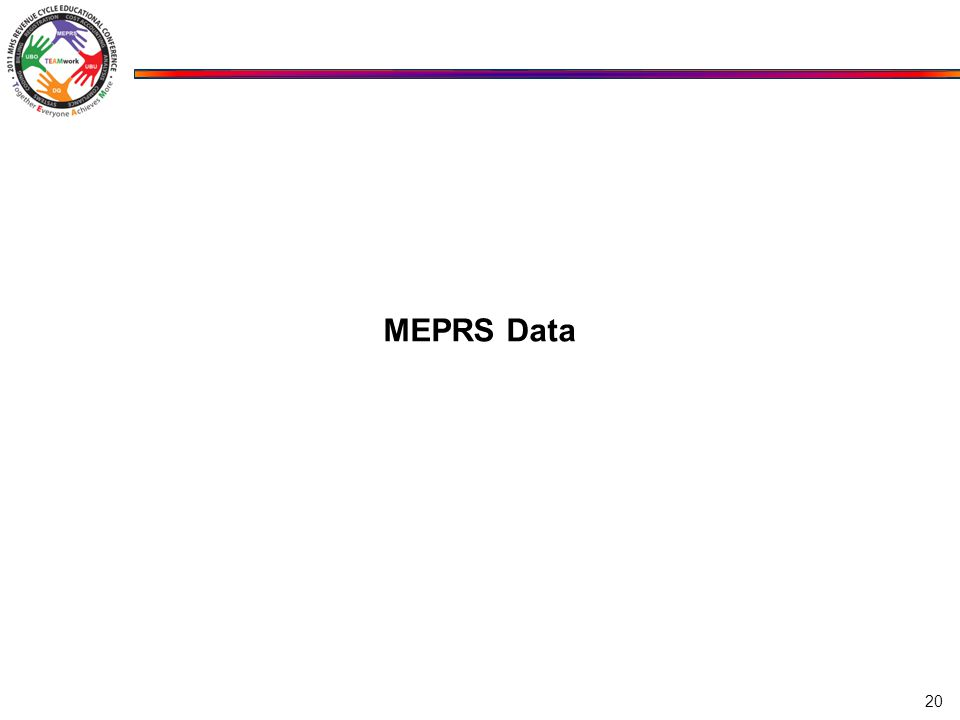 MEPRS Data 20