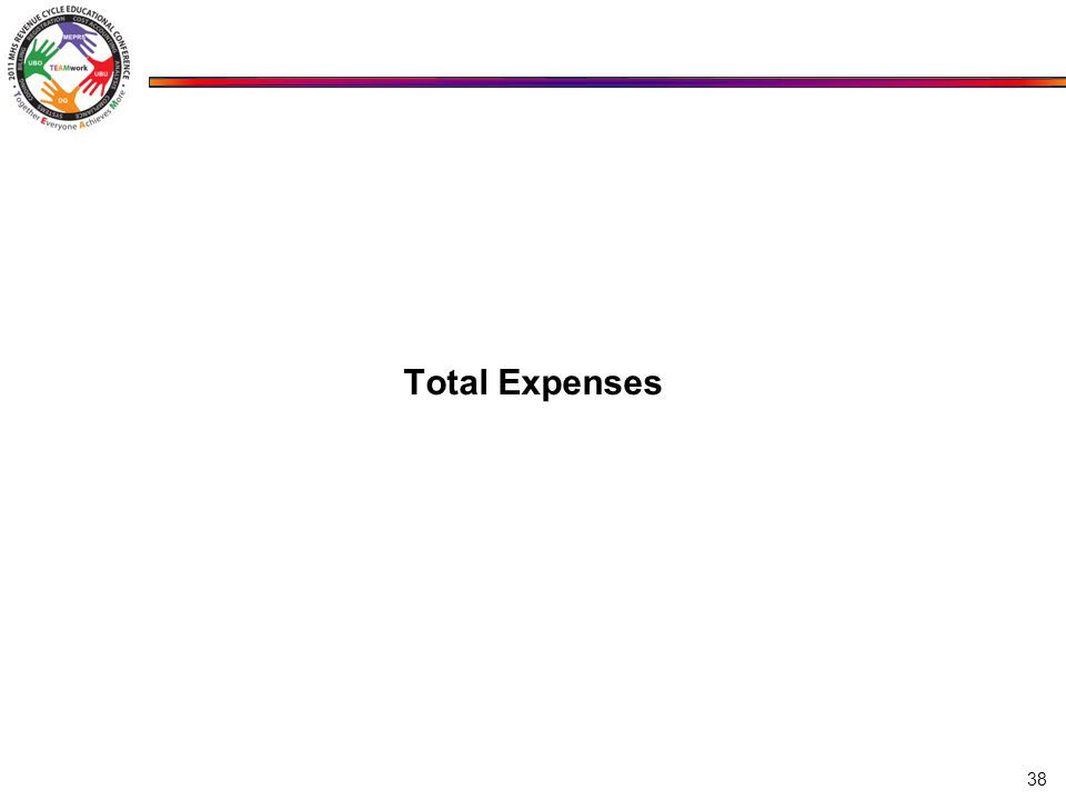 Total Expenses 38