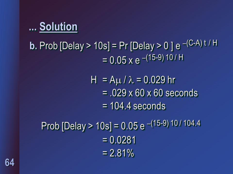 64... Solution b.