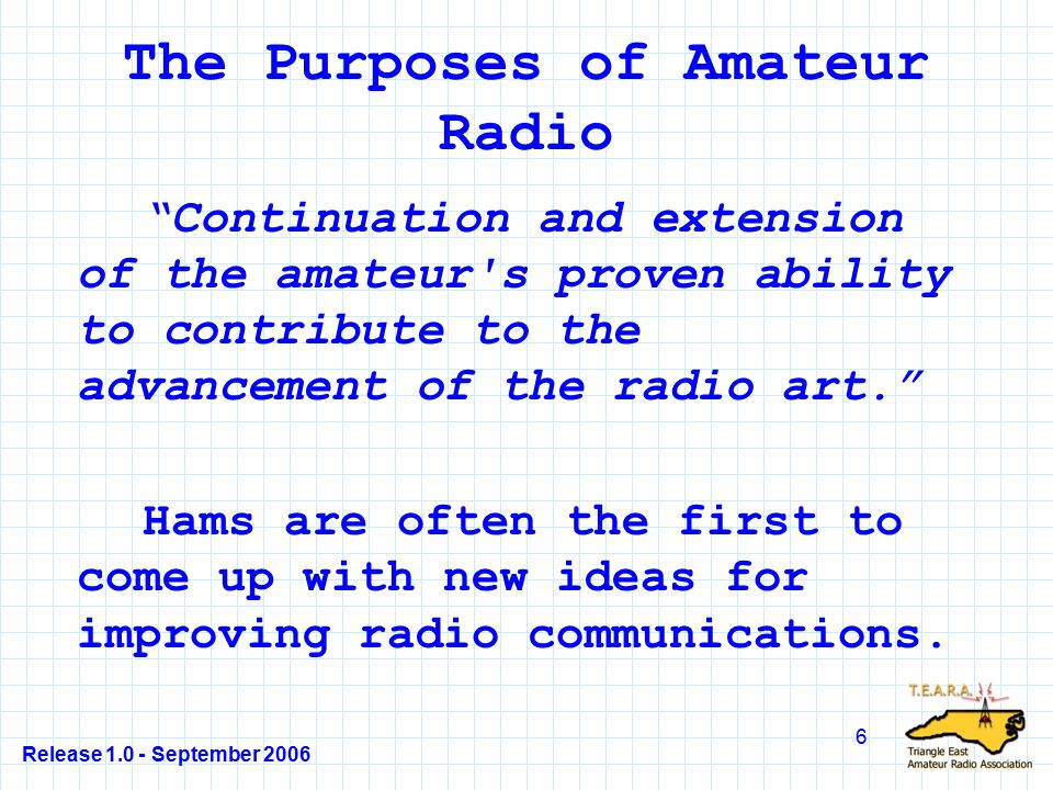 Release 1.0 - September 2006 97 T1C08 What amateur band are you using if you are operating on 223.50 MHz.