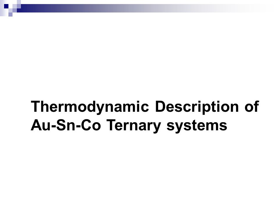Thermodynamic Description of Au-Sn-Co Ternary systems