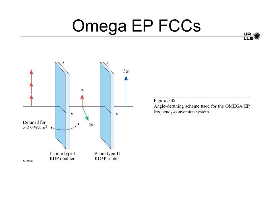 Omega EP FCCs