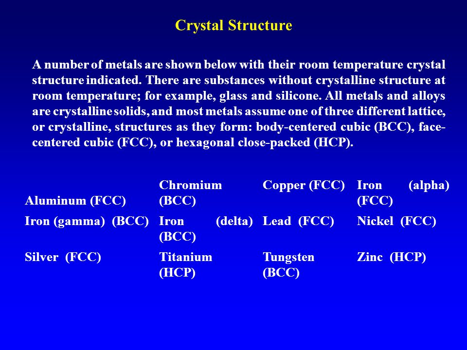 Planar Packing Density in FCC PD = Area of atoms centered on a given plane Area of the plane Example: Calculate the PPD on (1 1 0) plane of an FCC crystal.
