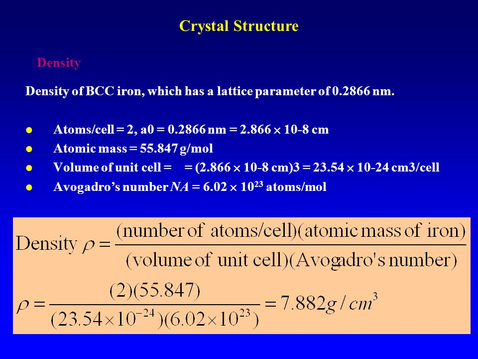 Points, Directions, and Planes in the Unit Cell Atomic configuration in Face-Centered-Cubic Geometry R R R R a Unit Cell: The basic structural unit of a crystal structure.