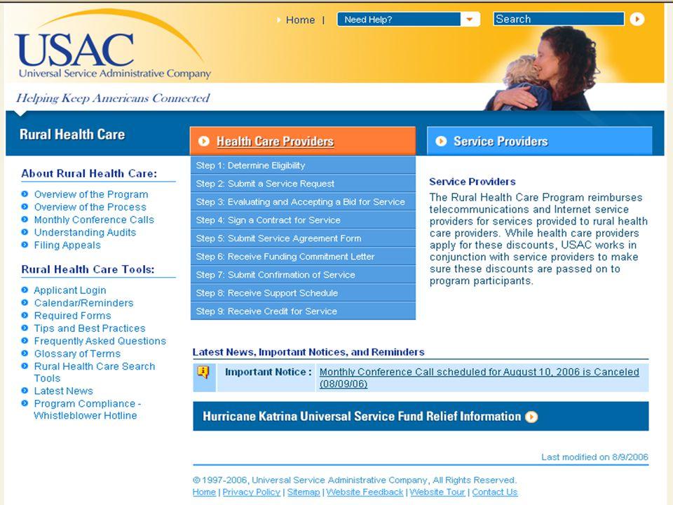 www.usac.org 13