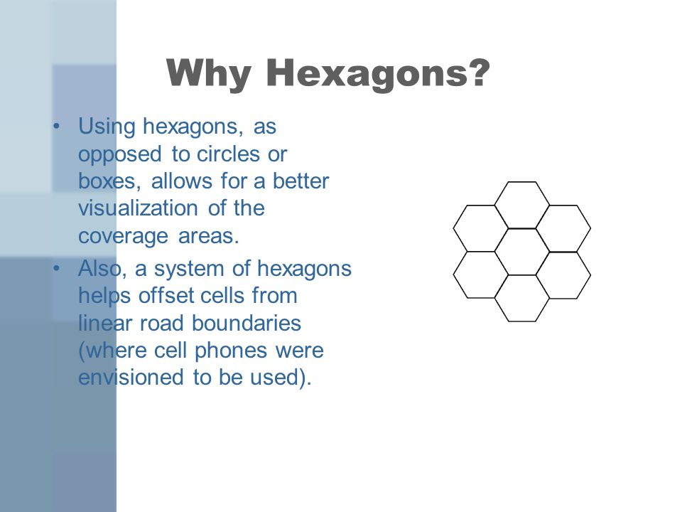 Why Hexagons.