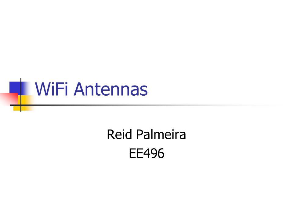 WiFi Antennas Reid Palmeira EE496
