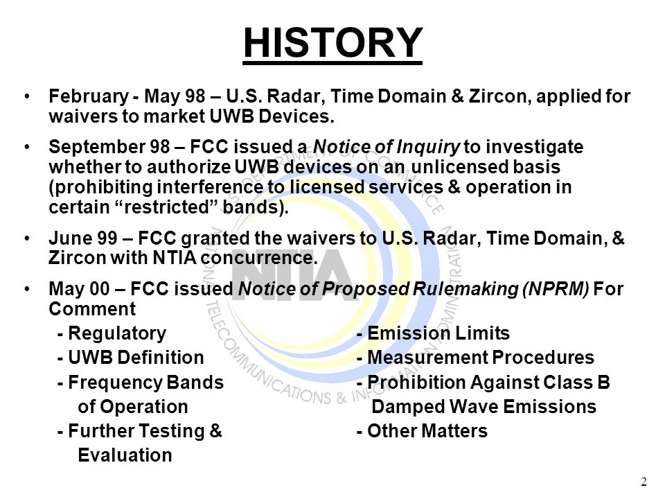 23 Measurement Cases Single Entry –GPS Satellite Signal + Noise + UWB Multiple Entry (Aggregate) –How UWB signals add & combine in GPS Receiver –5 combinations of UWB parameters (PRF, gating, & dithering) using up to 6 UWB generators Radiated Antenna – Determine impact of GPS antenna on UWB signal
