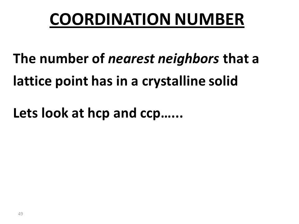 48 COMPARISON HCP CCP NOTICE the flip…... NEAREST NEIGHBORS…..