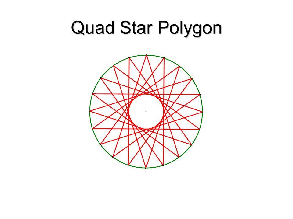 Quad Star Polygon