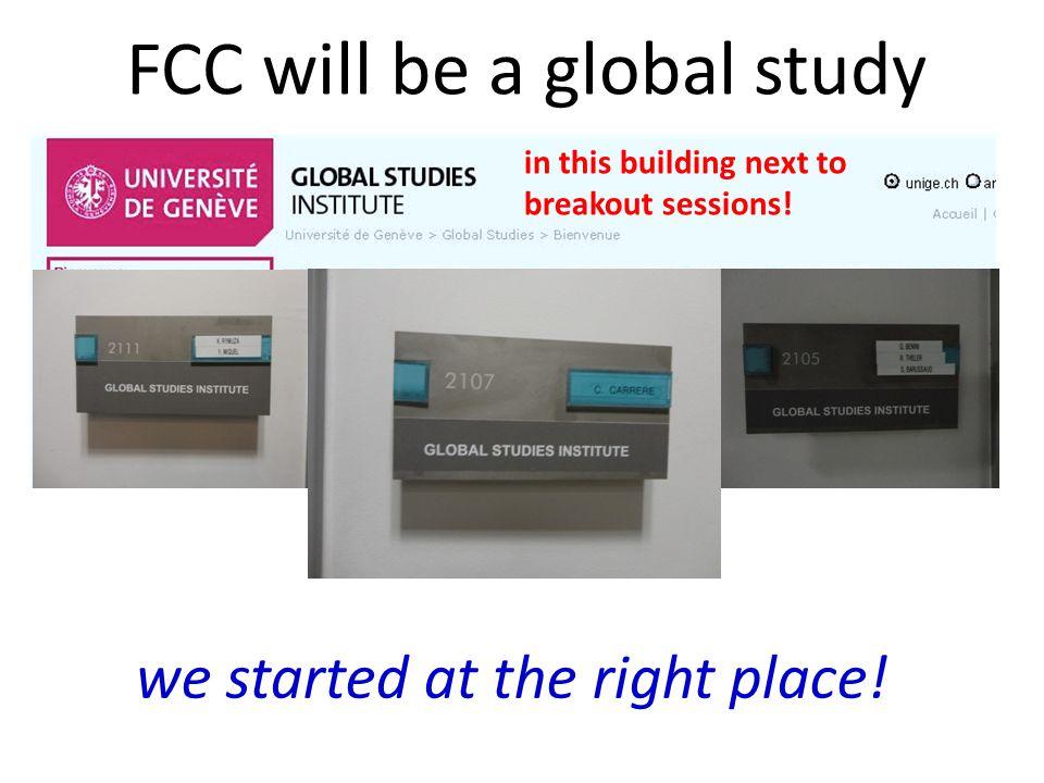FCC-ee FCC-hh FCC-he