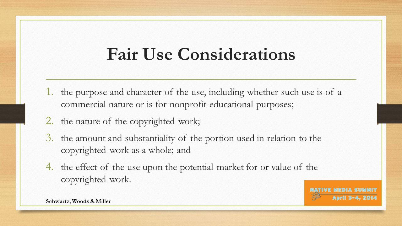 What About Trademarks?  ®  ™  SM Schwartz, Woods & Miller