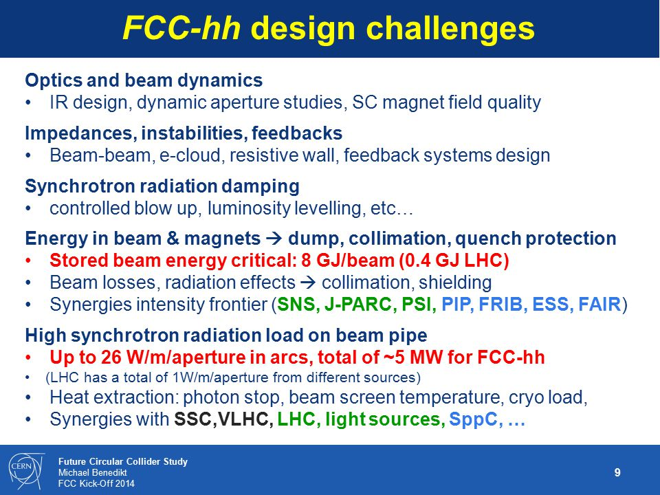 20 Future Circular Collider Study Michael Benedikt FCC Kick-Off 2014 WBS – lower level example: FCC-ee study International contributors and convenors needed for technical areas and study organisation Draft work packages and units