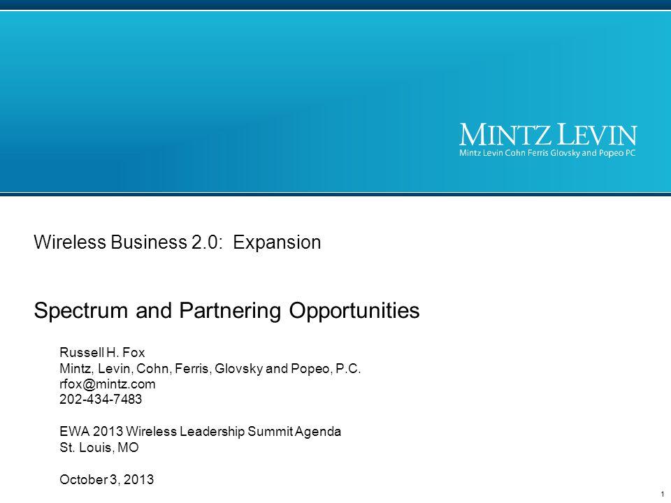 Spectrum Opportunities 2