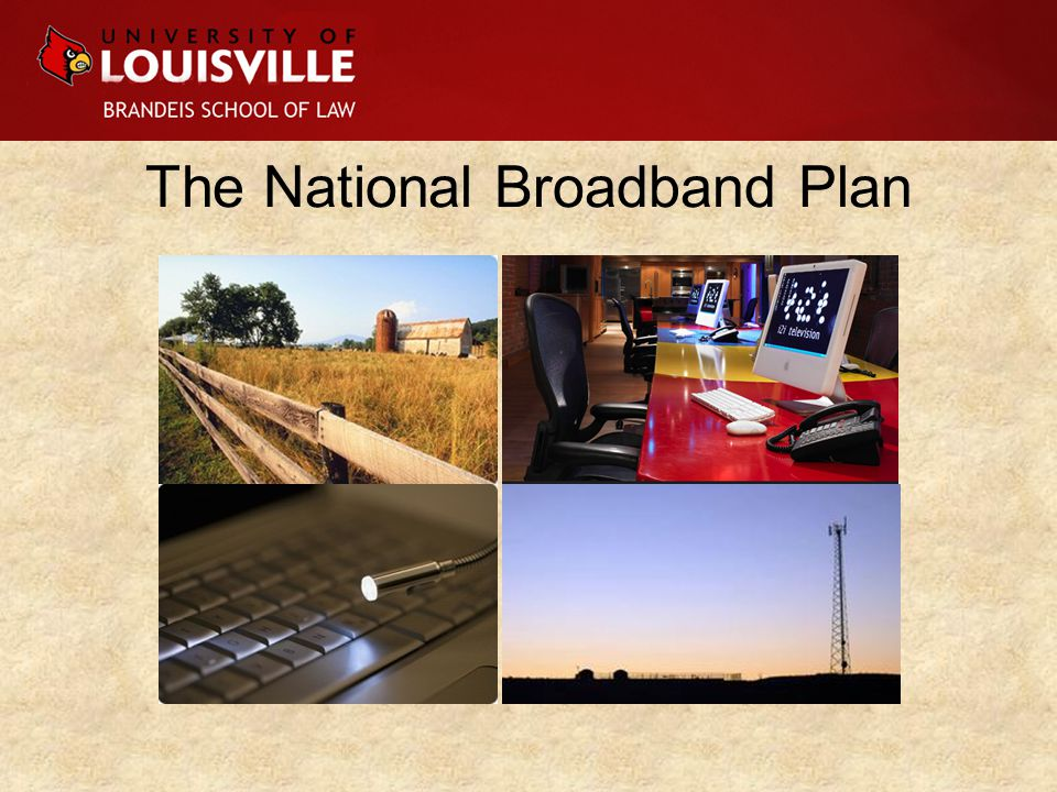 100/100/10 answer to 2009's stimulus bill –Extend broadband to 100 million Americans –Reach a default download speed of 100 Mbps –Accomplish these goals in 10 years (by 2020) The U.S.