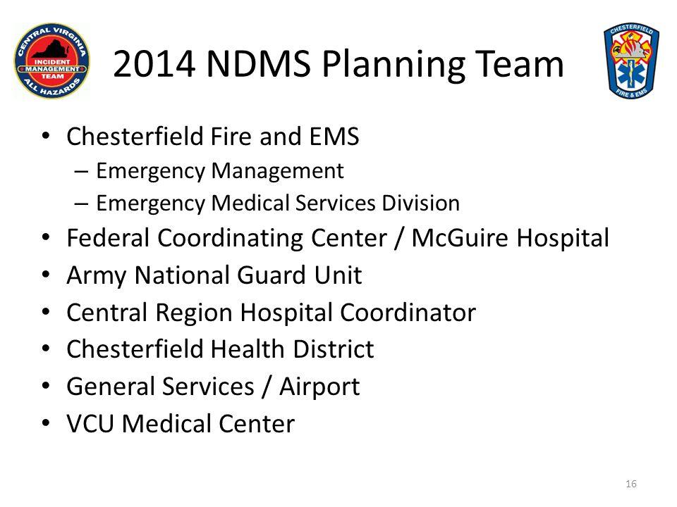 17 2014 NDMS Exercise