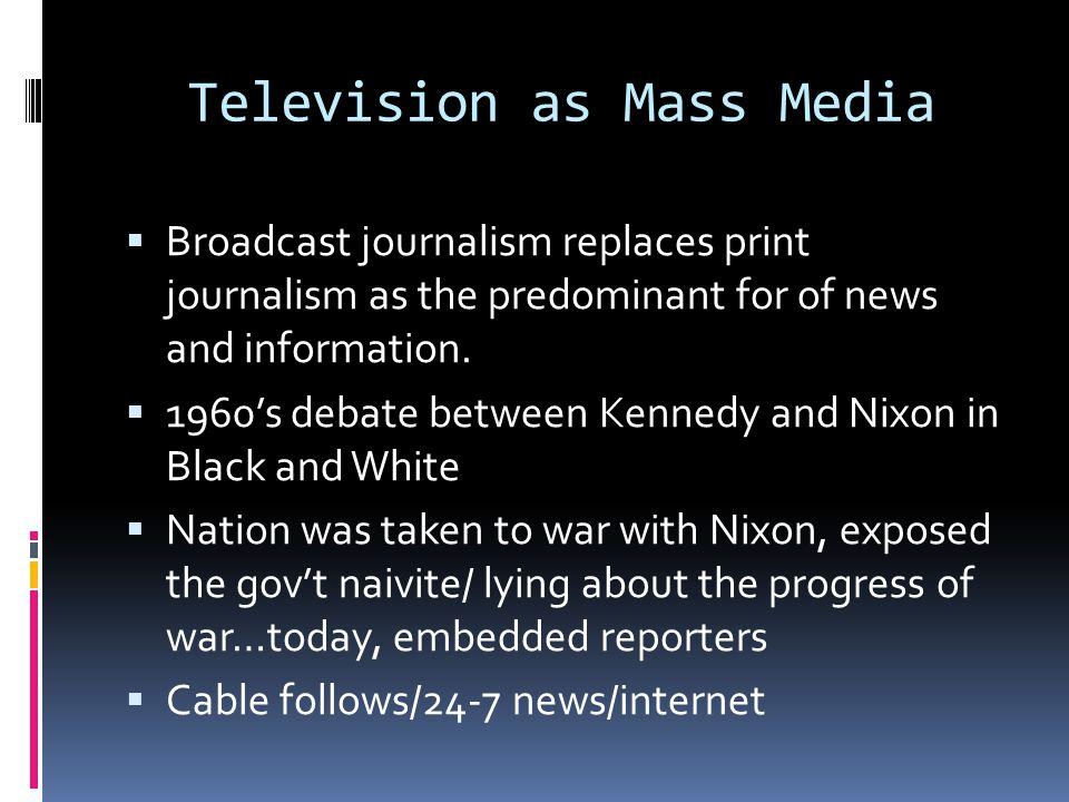 Media's effect on political preferences.