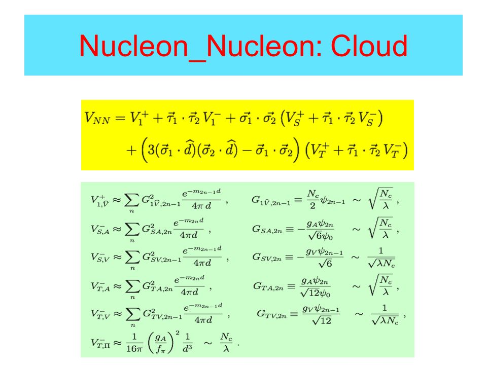 Nucleon_Nucleon: Cloud