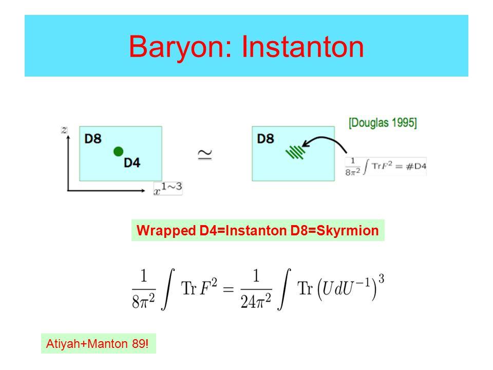 BCC of ½ Instantons To order ω-core repulsion between v and (1-v) : Repulsion balances v=1-v iev=1/2