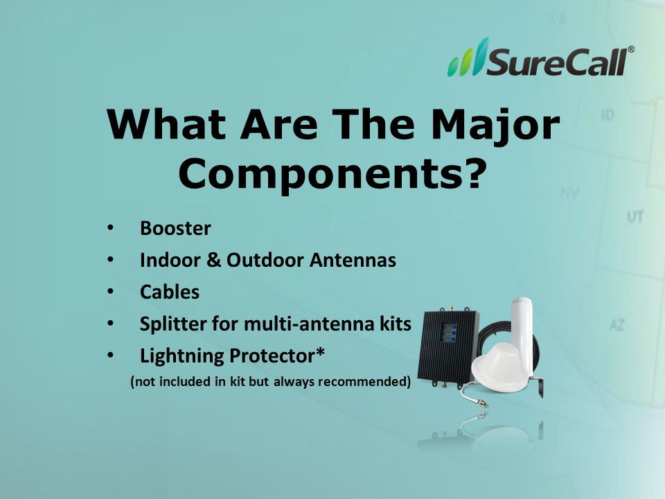 What Are The Major Components.