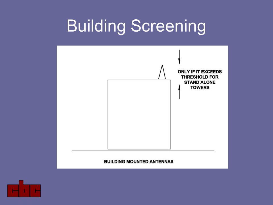 Building Screening