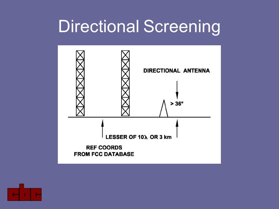Directional Screening