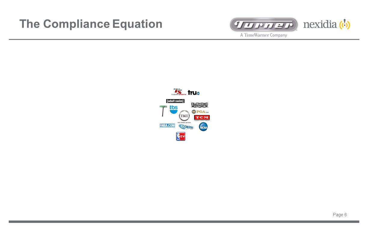 Page 6 The Compliance Equation