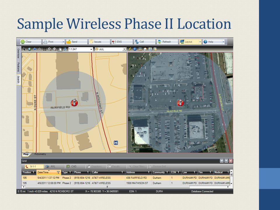 Sample Wireless Phase II Location
