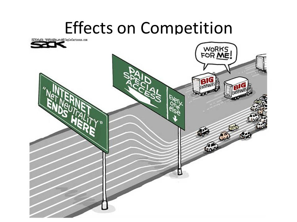 Effects on Competition