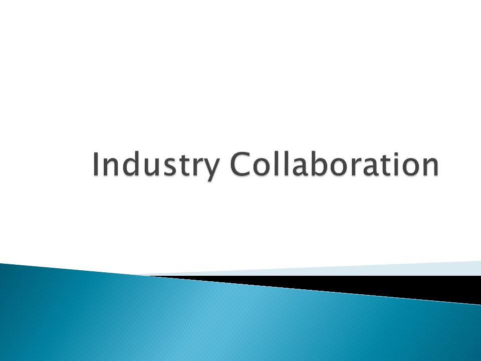 22  Industry collaboration functions as a central tenet in the multi- stakeholder approach to Internet governance  With 95% of the nation's critical infrastructure owned and operated by the private sector, industry collaboration on network access, resiliency, and cyber security is essential  Industry collaboration takes three primary forms: ◦ Industry-to-industry collaboration, industry-organized, & industry-led ◦ Industry-sponsored collaboration that funnels guidance to government ◦ Government-sponsored entities that foster/facilitate industry input