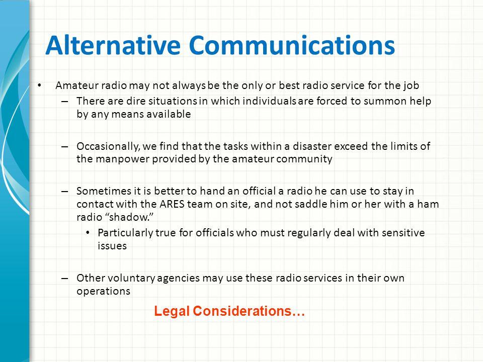 Topic 24 – Alternative Communication Methods