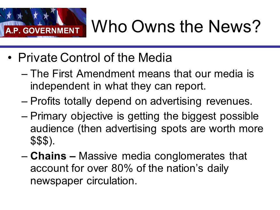 Who Owns the News.
