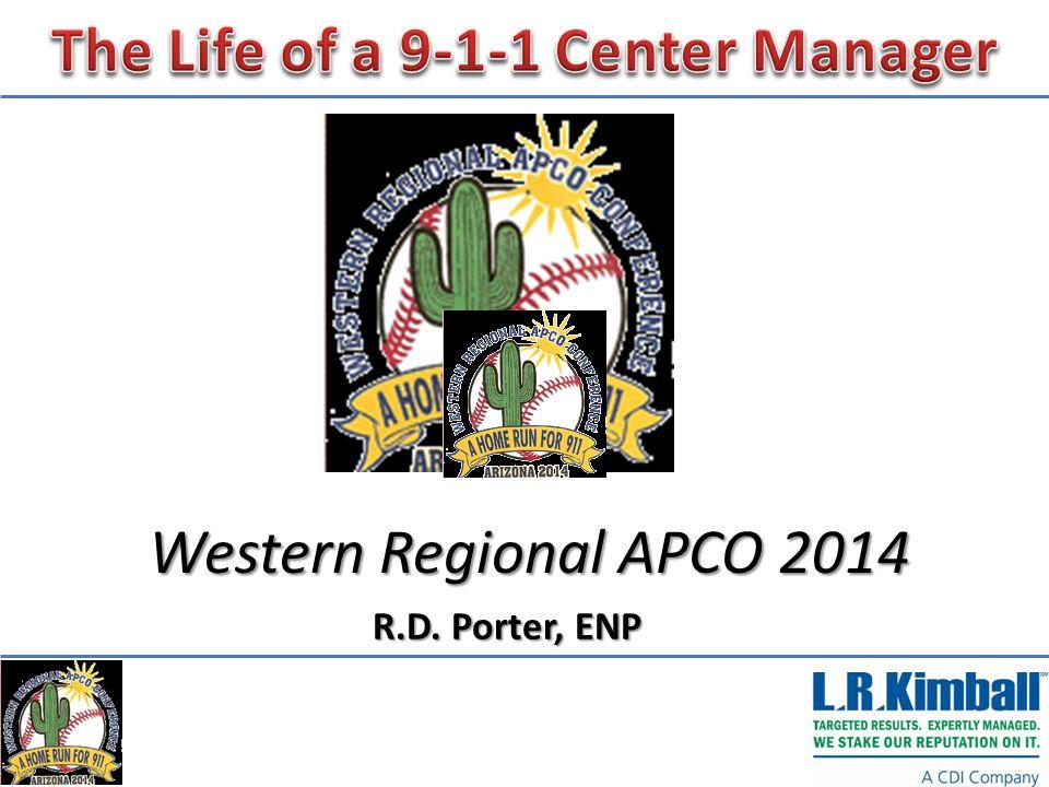 Western Regional APCO 2014 R.D. Porter, ENP