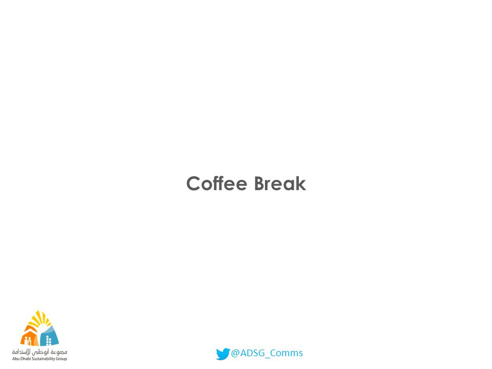 @ADSG_Comms Coffee Break