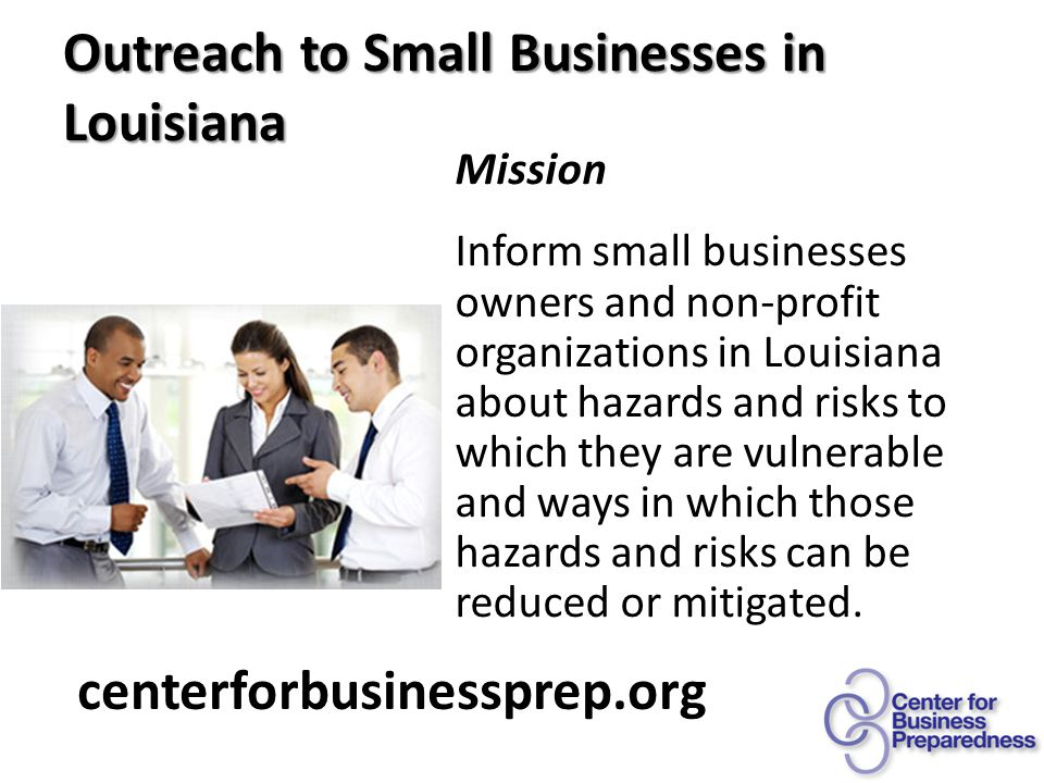 The Facts centerforbusinessprep.org Annually 74% of small/medium businesses report cyber attacks in past 12 mos.