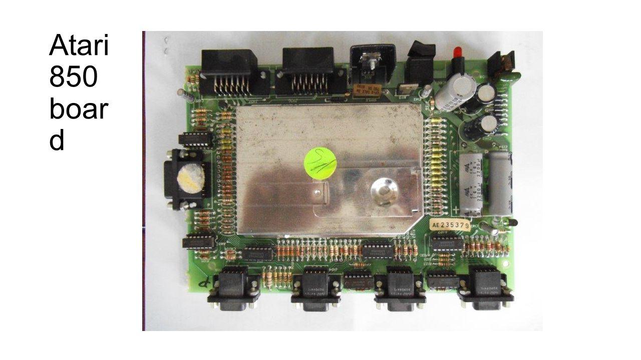 Atari 850 boar d