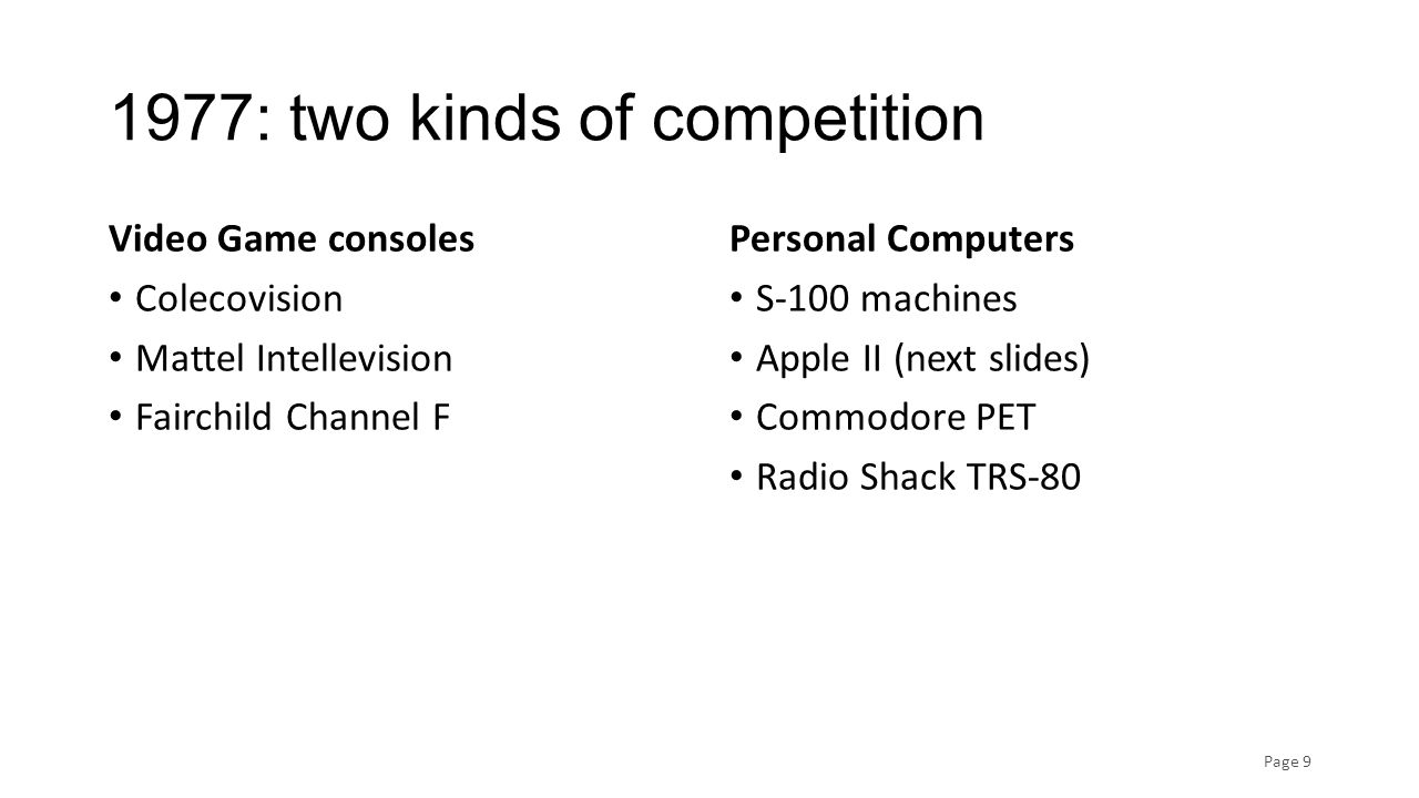 Competition: Apple II Page 10