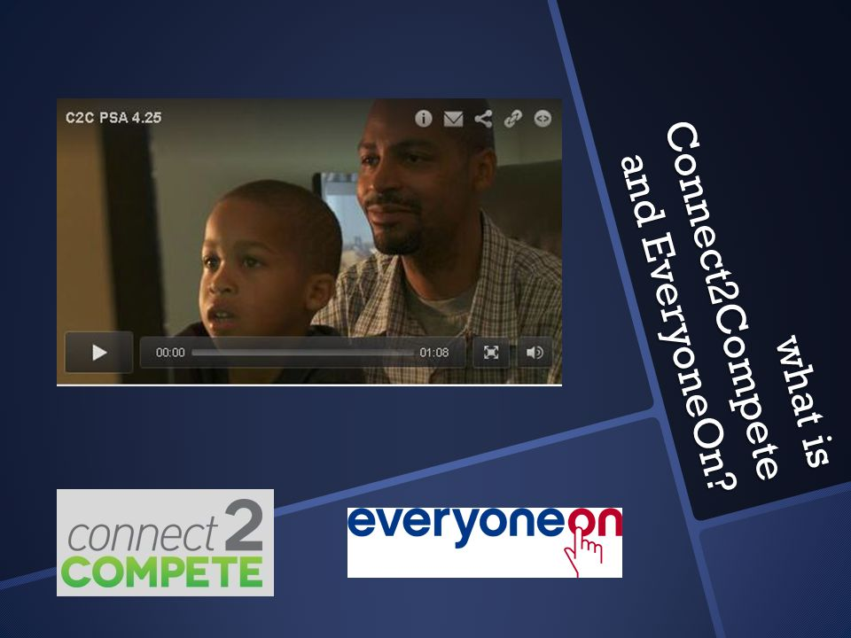 what is Connect2Compete and EveryoneOn