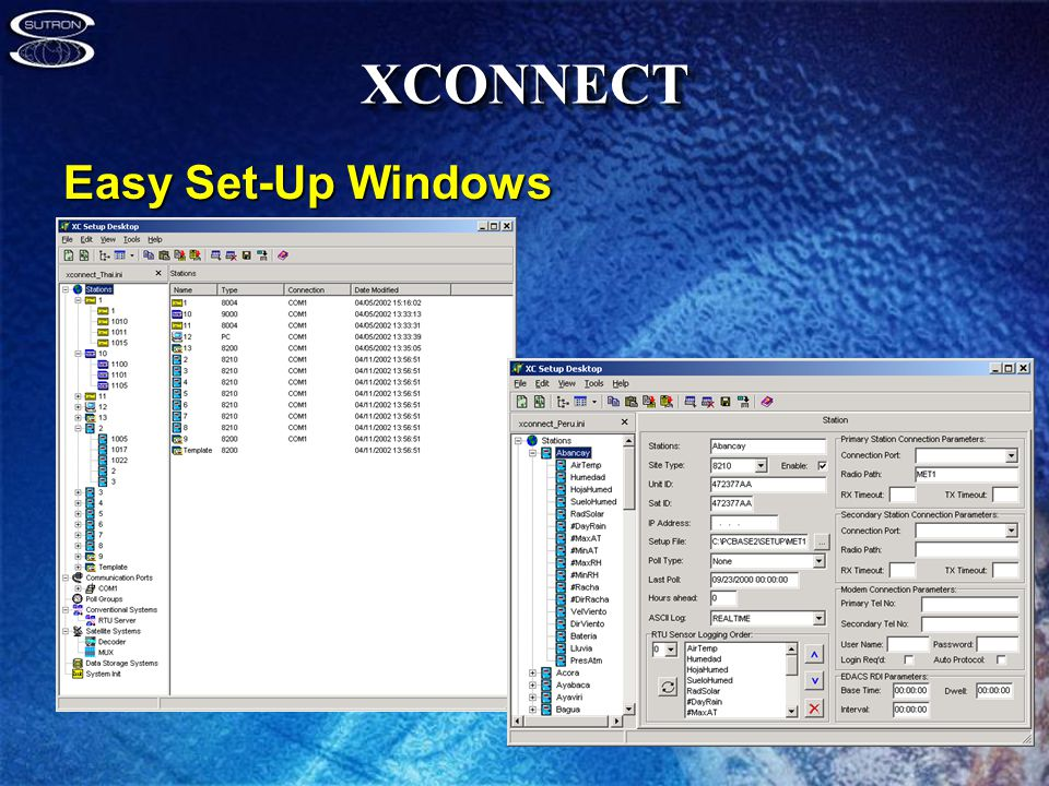 XCONNECTXCONNECT Easy Set-Up Windows
