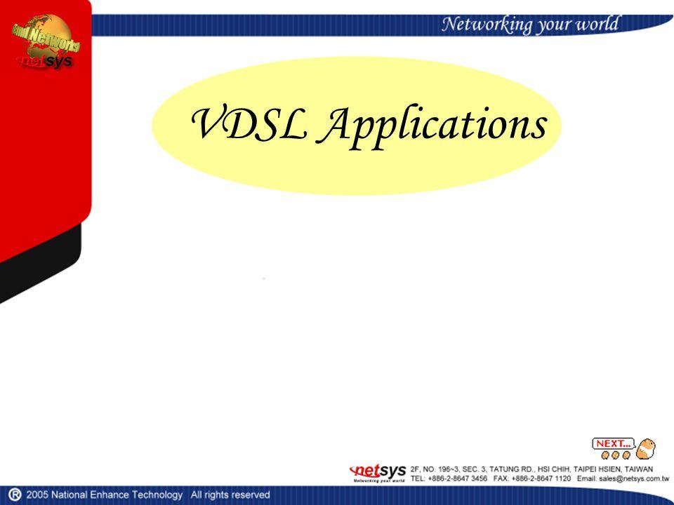 VDSL Applications