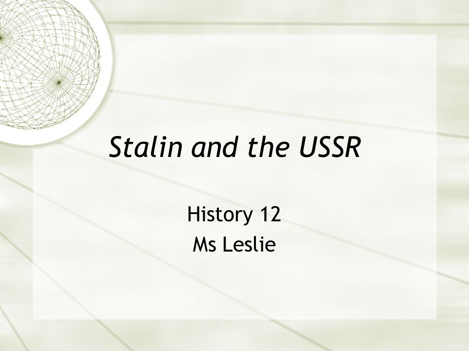  By 1934 Stalin announced there is no one left to fight as all the peasants and workers had been beaten into submission.