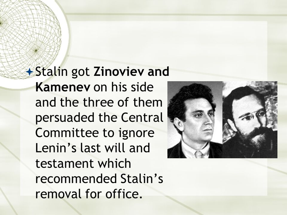 Who carried out the purges. Stalin had created his own secret police.