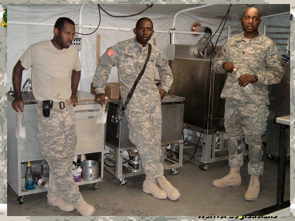 Warrior Logisticians 18 KCLFF