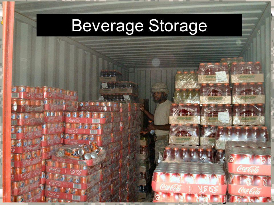 Warrior Logisticians 24 Operational Ration Storage
