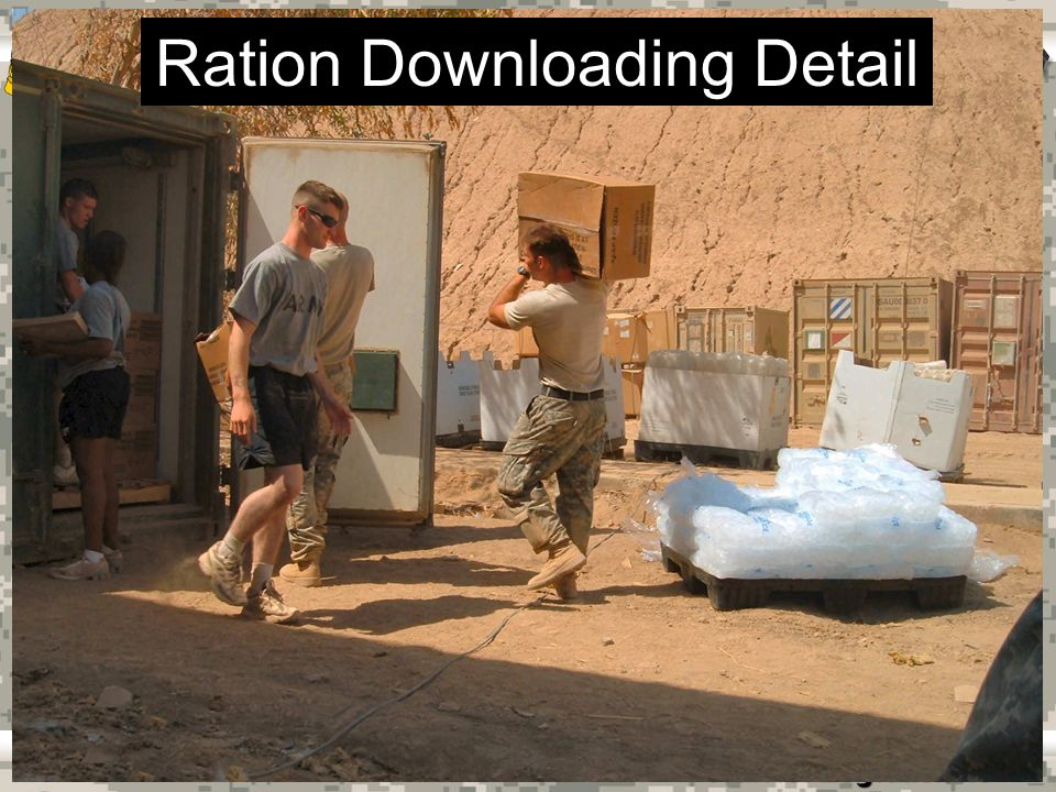 Warrior Logisticians 29 Ration Downloading Detail